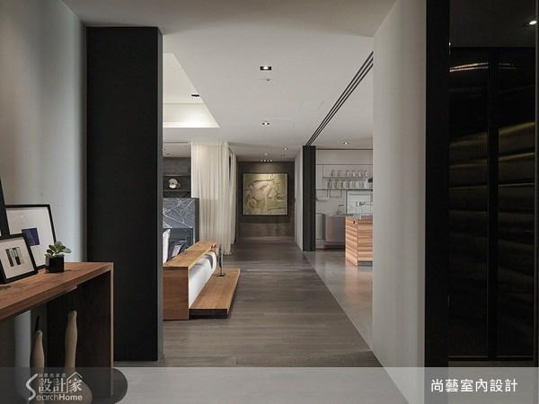 70坪_美式風走廊案例圖片_尚藝室內設計_尚藝_24國家美術館墨方之1