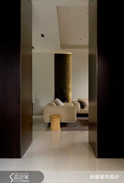 160坪新成屋(5年以下)_現代風走廊案例圖片_尚藝室內設計_尚藝_13新店靜岡之2