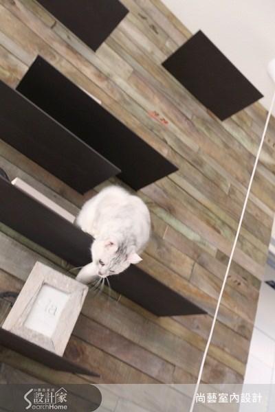 40坪新成屋(5年以下)_休閒風客廳寵物案例圖片_尚藝室內設計_尚藝_20大直輕觸大地之8