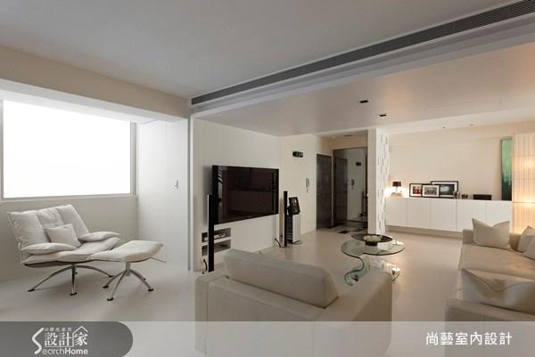 40坪老屋(16~30年)_現代風客廳案例圖片_尚藝室內設計_尚藝_21深坑之6
