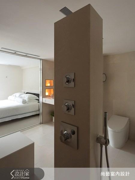 40坪老屋(16~30年)_現代風臥室浴室案例圖片_尚藝室內設計_尚藝_21深坑之18