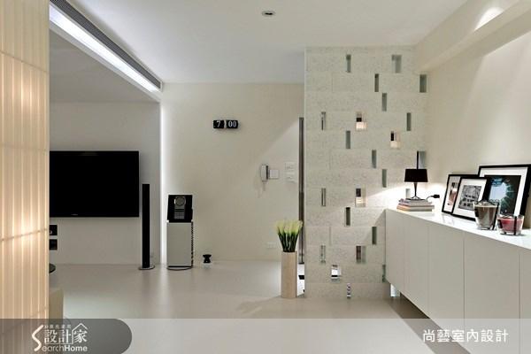40坪老屋(16~30年)_現代風玄關走廊案例圖片_尚藝室內設計_尚藝_21深坑之3