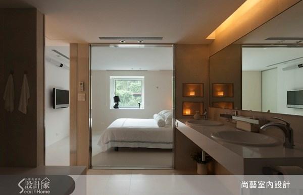 40坪老屋(16~30年)_現代風臥室浴室案例圖片_尚藝室內設計_尚藝_21深坑之16