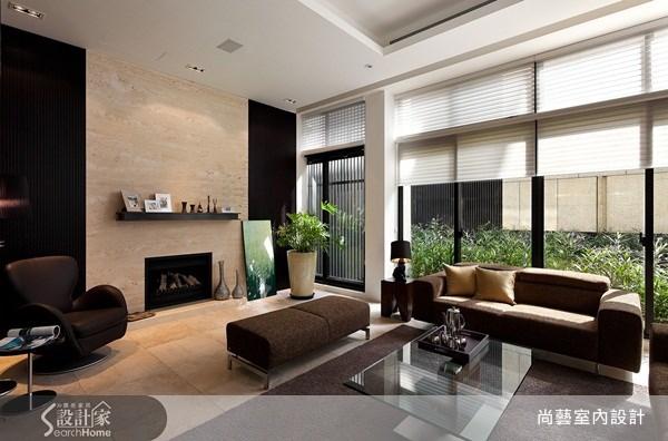150坪新成屋(5年以下)_新古典客廳案例圖片_尚藝室內設計_尚藝_23陽明山過院來之1