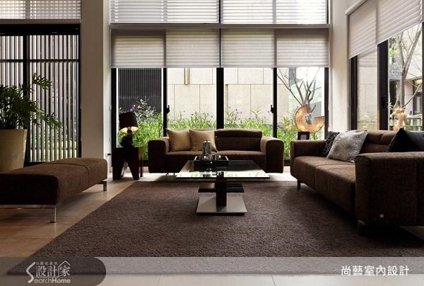 150坪新成屋(5年以下)_新古典客廳案例圖片_尚藝室內設計_尚藝_23陽明山過院來之3