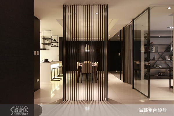 45坪新成屋(5年以下)_現代風餐廳案例圖片_尚藝室內設計_尚藝_15未來之光之3