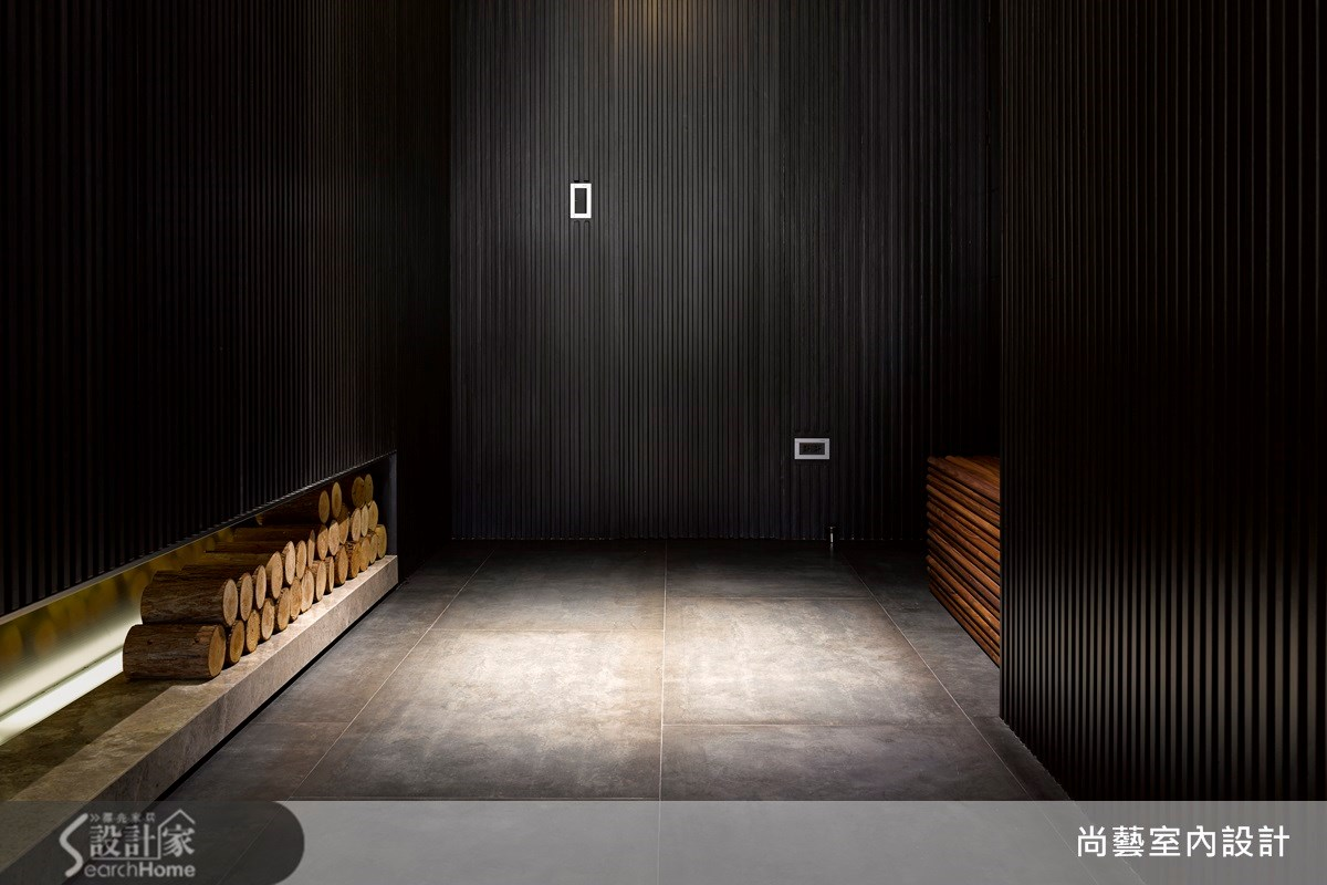 70坪新成屋(5年以下)_現代風玄關案例圖片_尚藝室內設計_尚藝_27高雄溫莎堡器宇之1