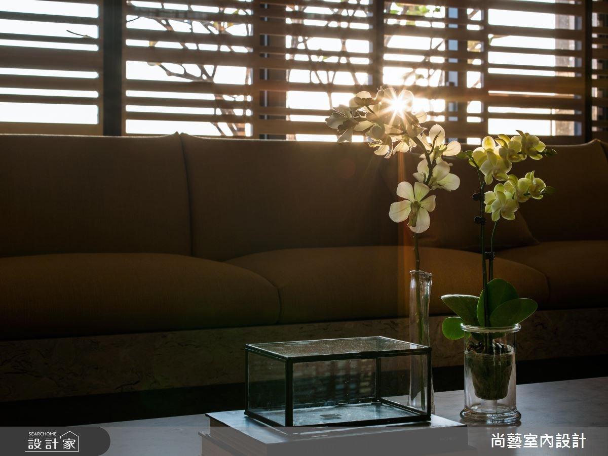 87坪新成屋(5年以下)_奢華風客廳案例圖片_尚藝室內設計_尚藝_33台中入深林之9