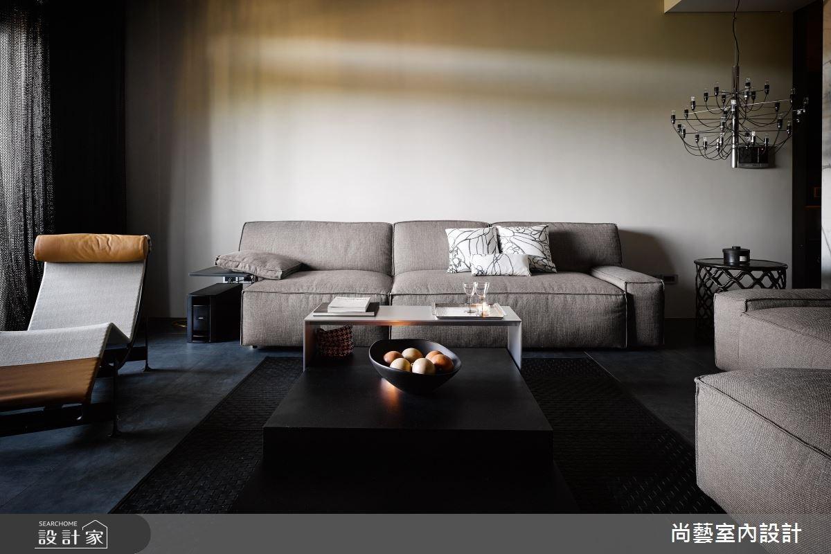 52坪新成屋(5年以下)_現代風客廳案例圖片_尚藝室內設計_尚藝_35世界山莊之2