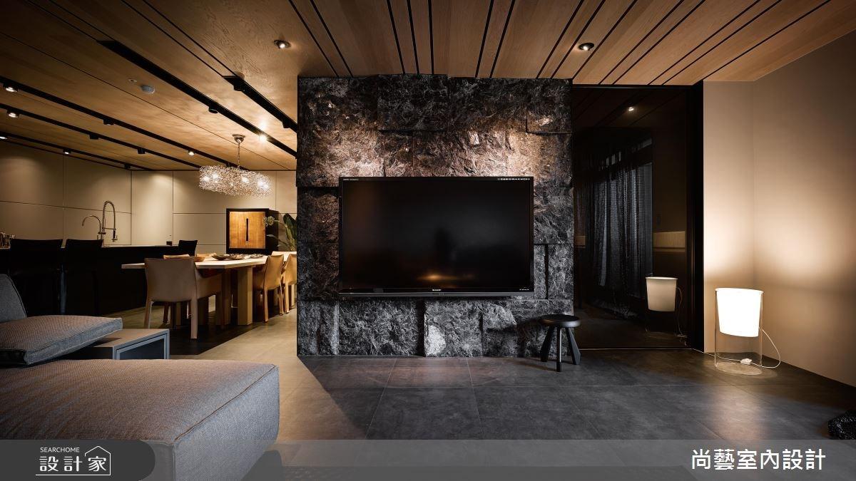 52坪新成屋(5年以下)_現代風客廳餐廳案例圖片_尚藝室內設計_尚藝_35世界山莊之4