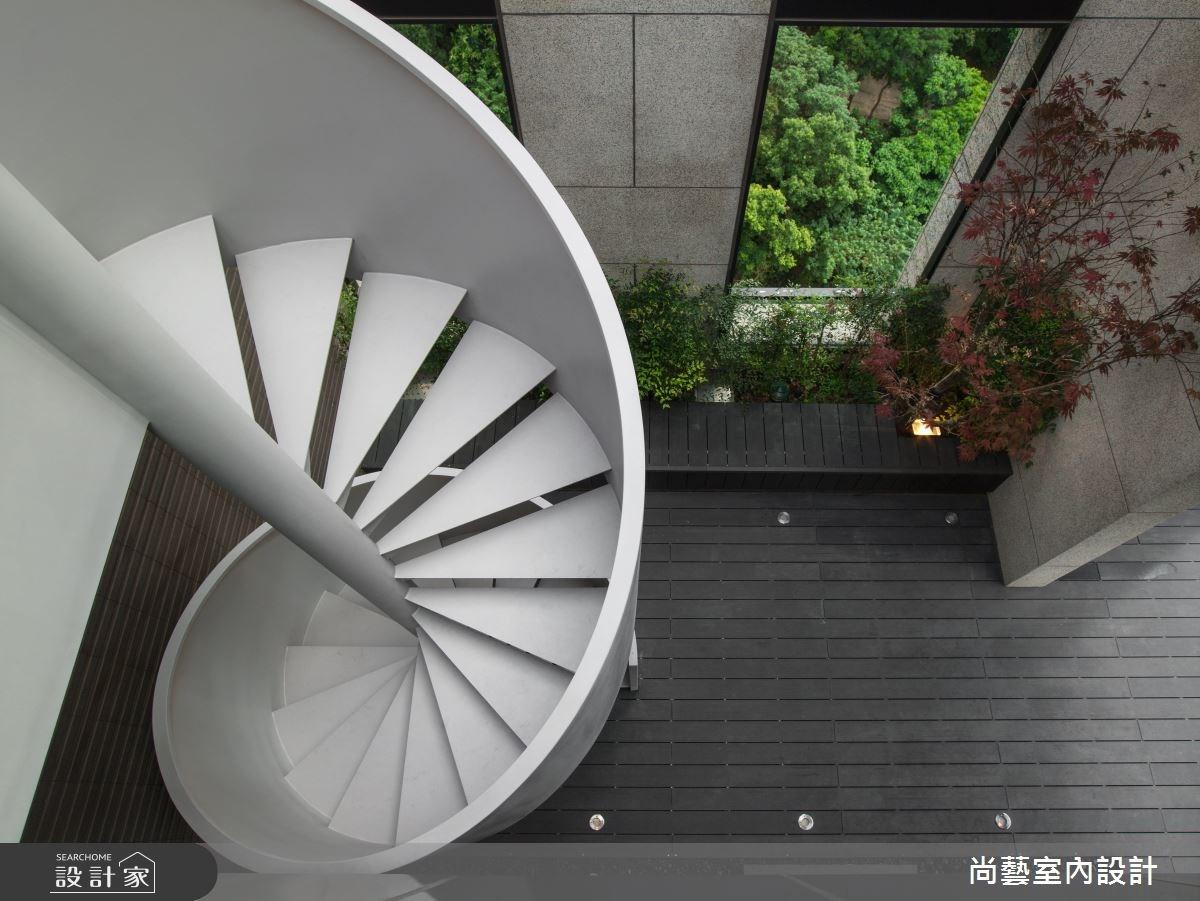 76坪新成屋(5年以下)_現代風樓梯案例圖片_尚藝室內設計_尚藝_38微觀四季之2