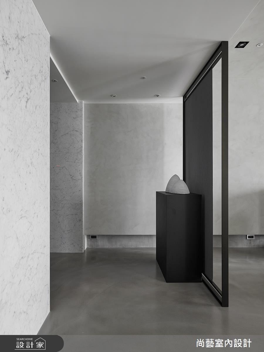 50坪新成屋(5年以下)_現代風玄關案例圖片_尚藝室內設計_尚藝_昇陽琉光謐境之2