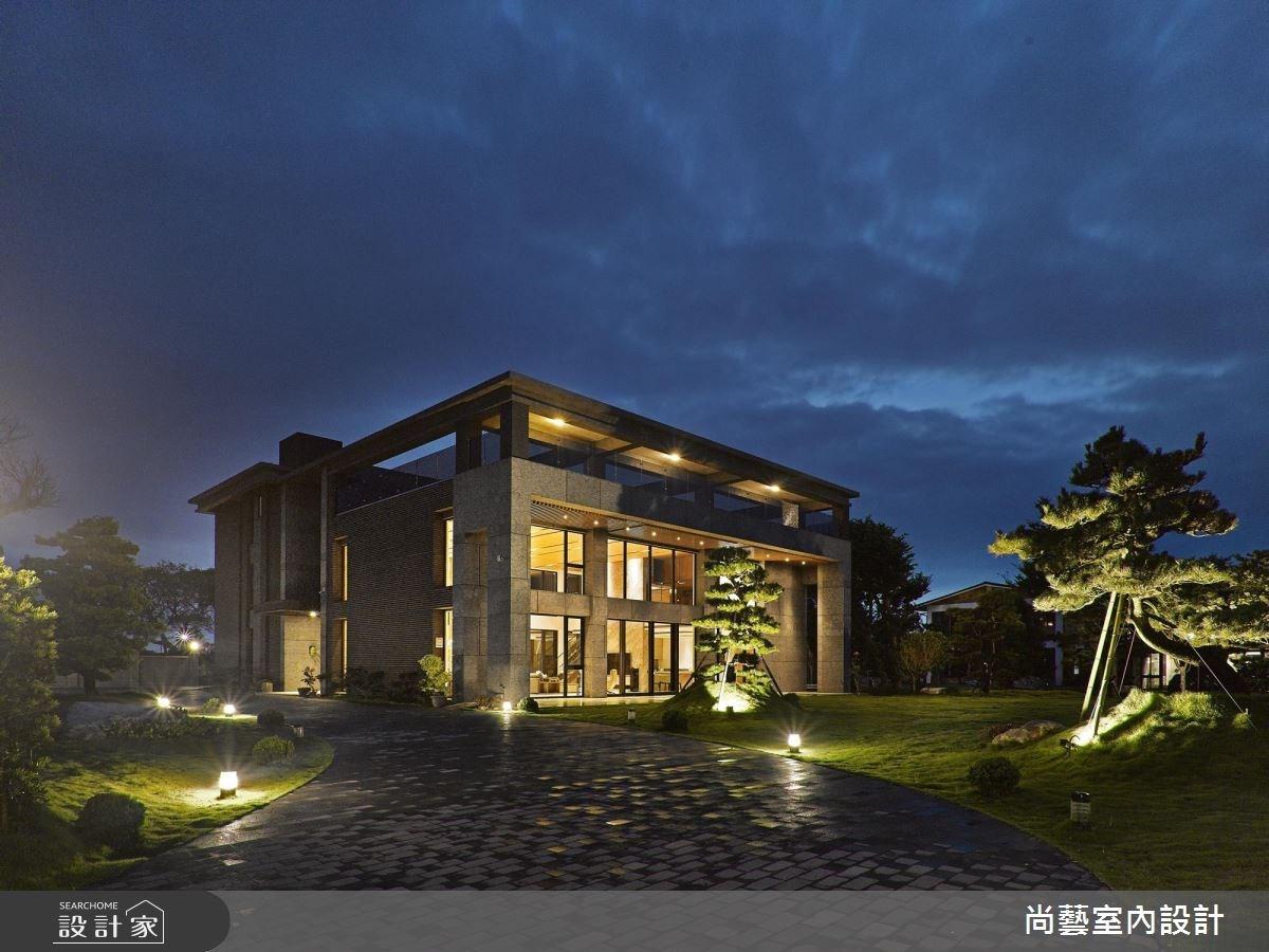 250坪新成屋(5年以下)_現代風庭院案例圖片_尚藝室內設計_尚藝_45藏峰寫意之3