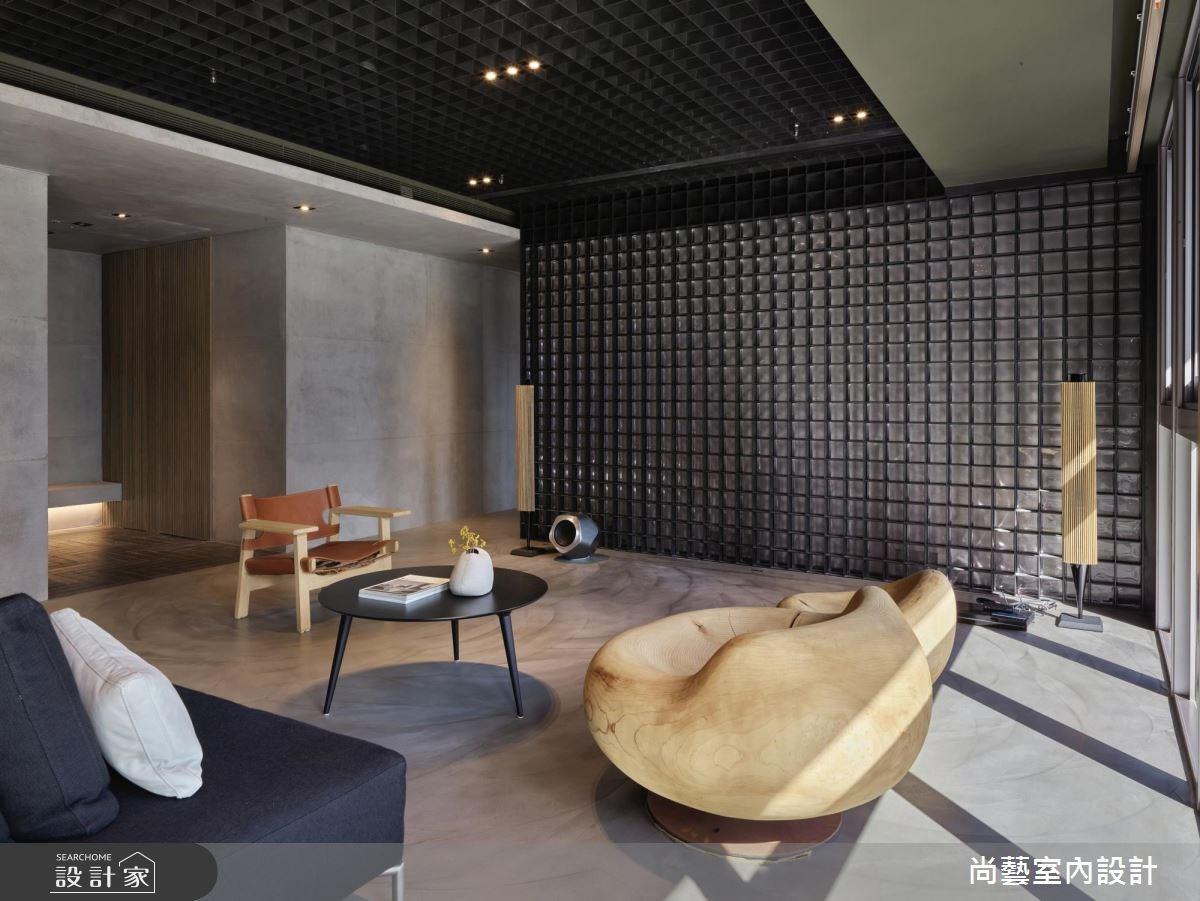 125坪新成屋(5年以下)_混搭風客廳案例圖片_尚藝室內設計_尚藝_46逸仙之2