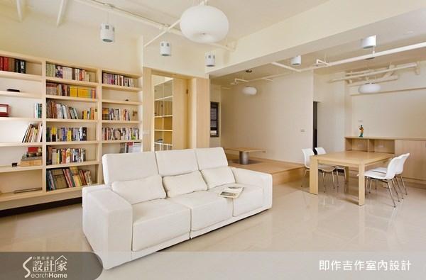 24坪新成屋(5年以下)_簡約風案例圖片_即作吉作室內設計/蔡青青_即作吉作_01之4