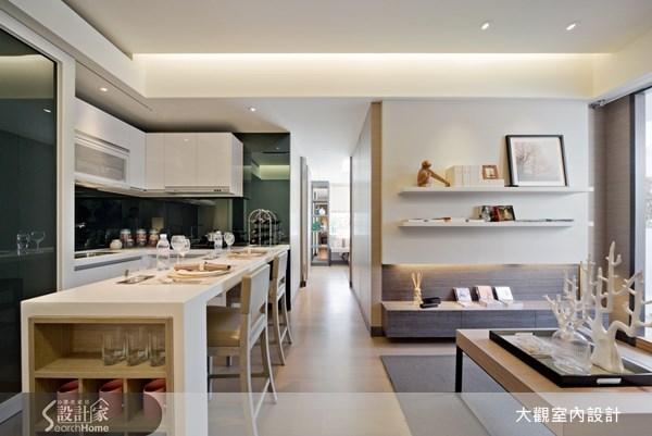 15坪預售屋_現代風客廳餐廳廚房案例圖片_大觀室內設計工程有限公司_大觀_07之3
