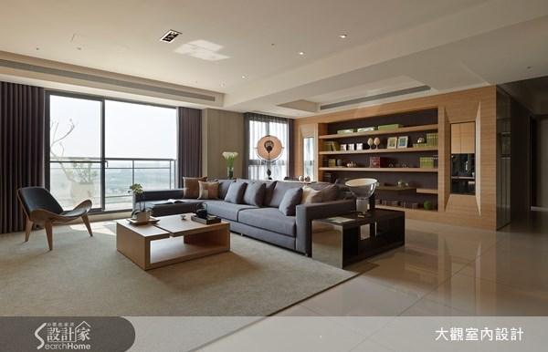 39坪新成屋(5年以下)_現代風客廳案例圖片_大觀室內設計工程有限公司_大觀_10之5