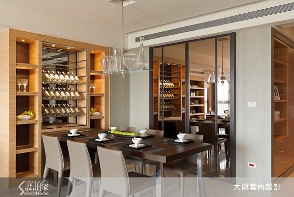 39坪新成屋(5年以下)_現代風餐廳案例圖片_大觀室內設計工程有限公司_大觀_10之4