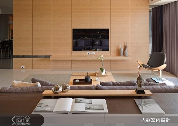 39坪新成屋(5年以下)_現代風客廳案例圖片_大觀室內設計工程有限公司_大觀_10之3