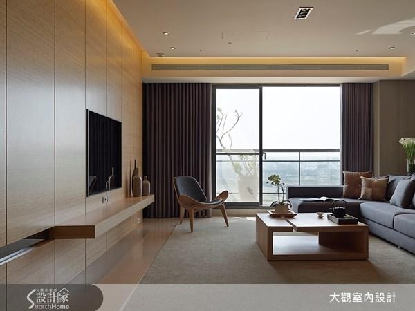 39坪新成屋(5年以下)_現代風客廳案例圖片_大觀室內設計工程有限公司_大觀_10之2