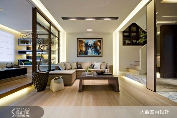29坪預售屋_奢華風客廳和室案例圖片_大觀室內設計工程有限公司_大觀_05之5