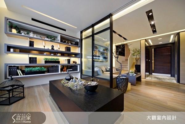 29坪預售屋_奢華風玄關客廳案例圖片_大觀室內設計工程有限公司_大觀_05之2