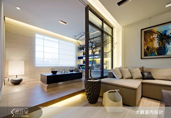 29坪預售屋_奢華風客廳和室案例圖片_大觀室內設計工程有限公司_大觀_05之6