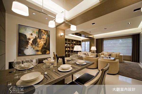 40坪新成屋(5年以下)_現代風客廳餐廳案例圖片_大觀室內設計工程有限公司_大觀_04之5