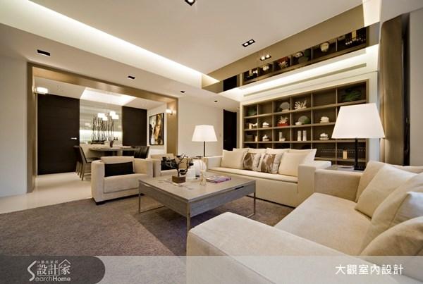 40坪新成屋(5年以下)_現代風客廳餐廳案例圖片_大觀室內設計工程有限公司_大觀_04之2