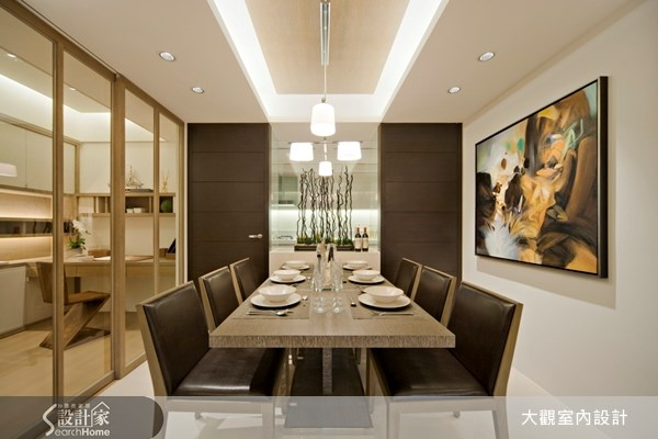 40坪新成屋(5年以下)_現代風餐廳案例圖片_大觀室內設計工程有限公司_大觀_04之4