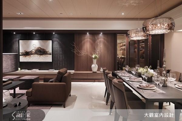 80坪新成屋(5年以下)_奢華風客廳餐廳案例圖片_大觀室內設計工程有限公司_大觀_03之3