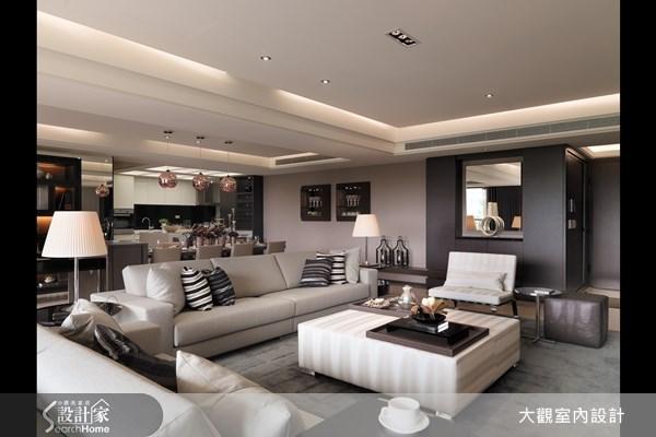 45坪新成屋(5年以下)_現代風客廳餐廳廚房案例圖片_大觀室內設計工程有限公司_大觀_11之3
