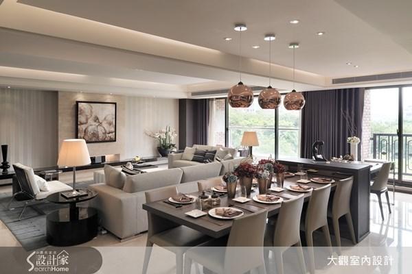 45坪新成屋(5年以下)_現代風客廳餐廳案例圖片_大觀室內設計工程有限公司_大觀_11之4