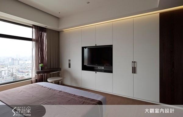 65坪新成屋(5年以下)_現代風臥室案例圖片_大觀室內設計工程有限公司_大觀_21之11