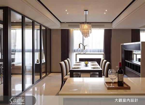 49坪新成屋(5年以下)_奢華風餐廳案例圖片_大觀室內設計工程有限公司_大觀_20之4