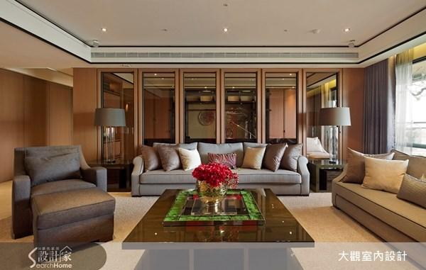 80坪新成屋(5年以下)_奢華風客廳案例圖片_大觀室內設計工程有限公司_大觀_19之3
