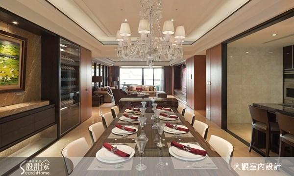 80坪新成屋(5年以下)_奢華風餐廳案例圖片_大觀室內設計工程有限公司_大觀_19之4
