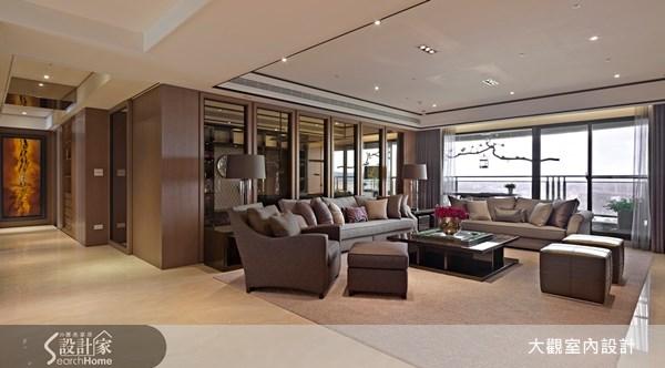 80坪新成屋(5年以下)_奢華風客廳案例圖片_大觀室內設計工程有限公司_大觀_19之2