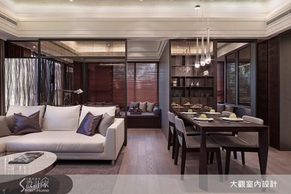 19坪預售屋_現代風客廳餐廳案例圖片_大觀室內設計工程有限公司_大觀_14之1