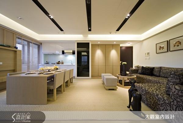 15坪新成屋(5年以下)_現代風玄關客廳餐廳廚房案例圖片_大觀室內設計工程有限公司_大觀_13之2