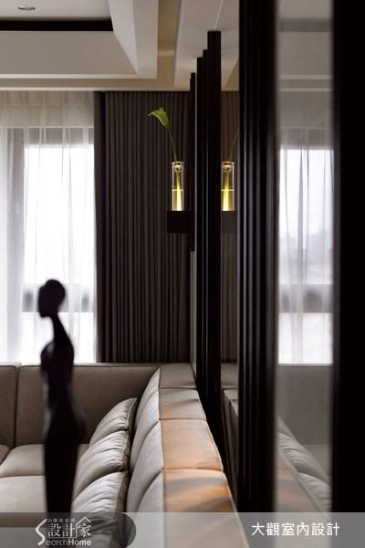 42坪新成屋(5年以下)_現代風客廳案例圖片_大觀室內設計工程有限公司_大觀_08之5