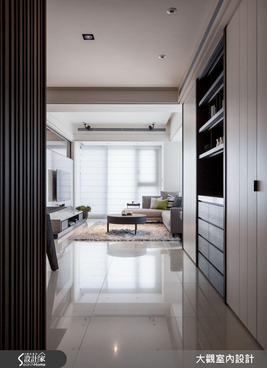 34坪新成屋(5年以下)_現代風走廊案例圖片_大觀室內設計工程有限公司_大觀_22之1