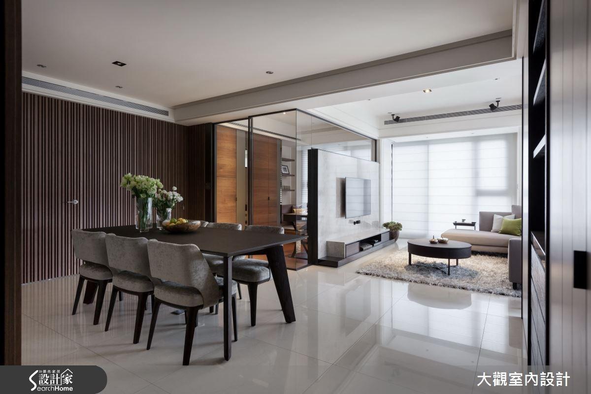 34坪新成屋(5年以下)_現代風餐廳案例圖片_大觀室內設計工程有限公司_大觀_22之2