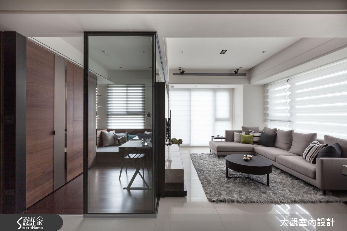 34坪新成屋(5年以下)_現代風客廳案例圖片_大觀室內設計工程有限公司_大觀_22之3