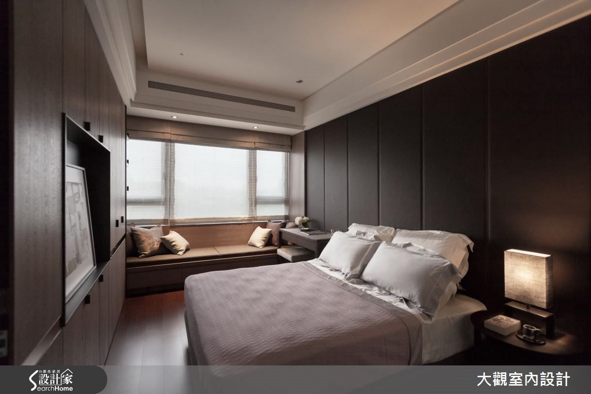 34坪新成屋(5年以下)_現代風臥室案例圖片_大觀室內設計工程有限公司_大觀_22之10