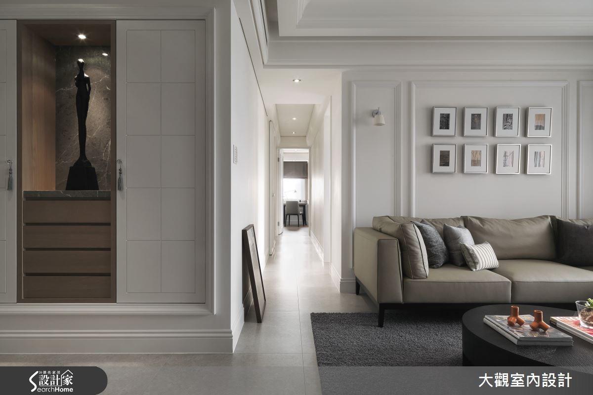 40坪老屋(16~30年)_新古典客廳案例圖片_大觀室內設計工程有限公司_大觀_23之3