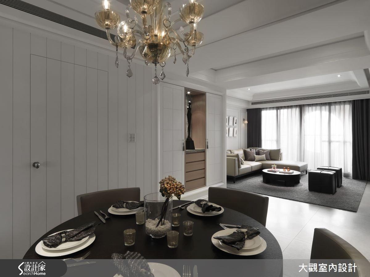 40坪老屋(16~30年)_新古典餐廳案例圖片_大觀室內設計工程有限公司_大觀_23之4