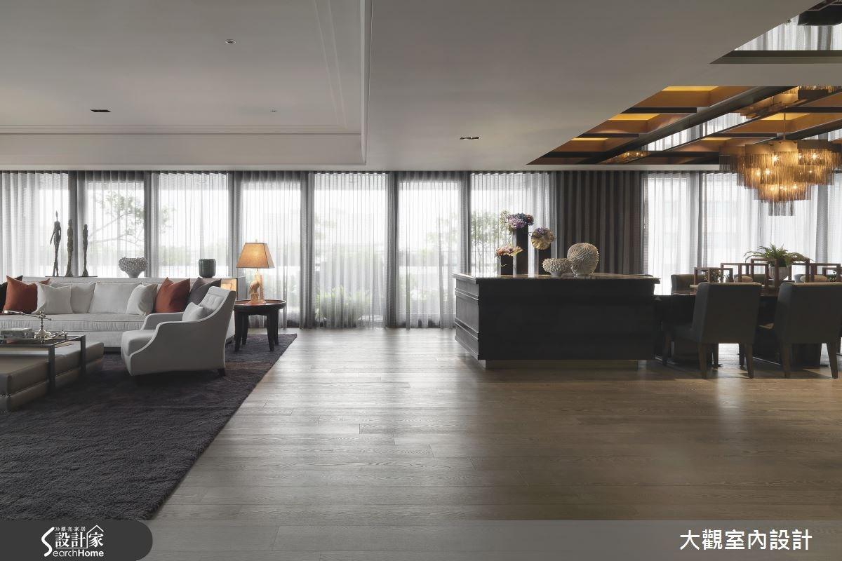 預售屋_新古典客廳案例圖片_大觀室內設計工程有限公司_大觀_25之3