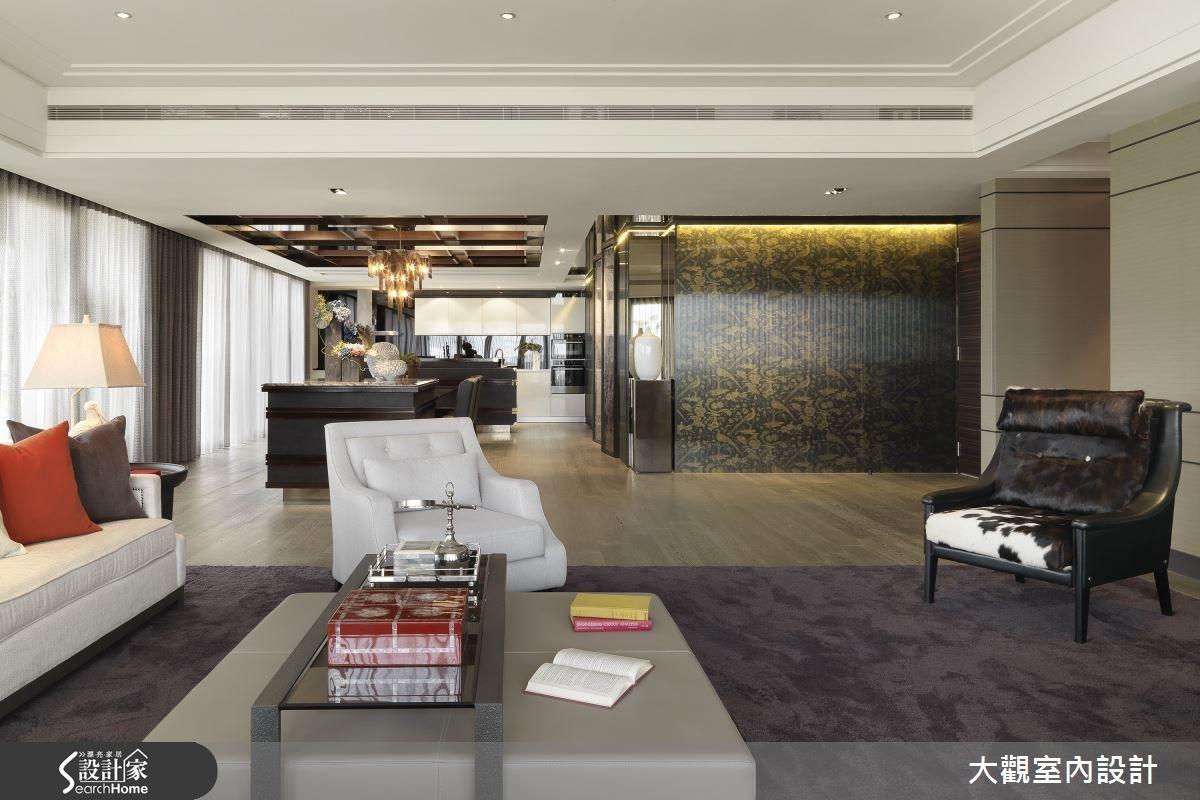 預售屋_新古典客廳案例圖片_大觀室內設計工程有限公司_大觀_25之4