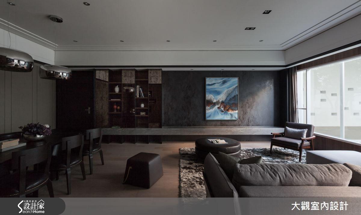 36坪預售屋_現代風客廳案例圖片_大觀室內設計工程有限公司_大觀_26之2